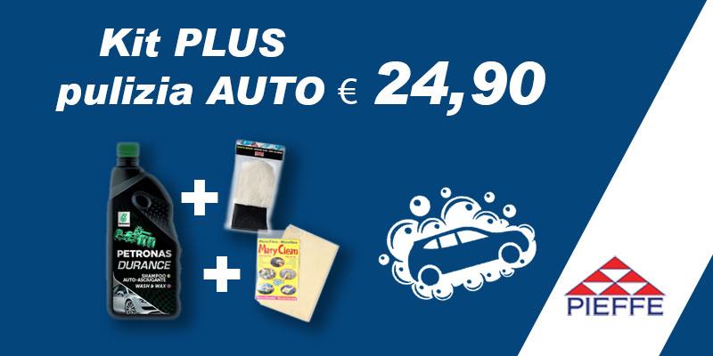 Promozione Kit PLUS pulizia AUTO € 24,90