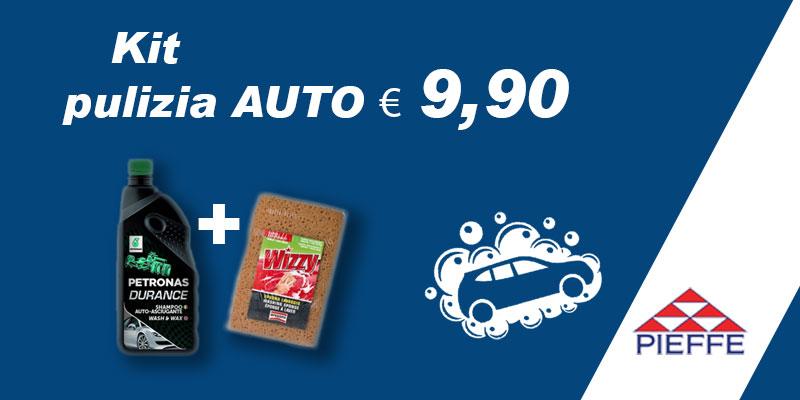 Promozione Kit pulizia AUTO € 9,90